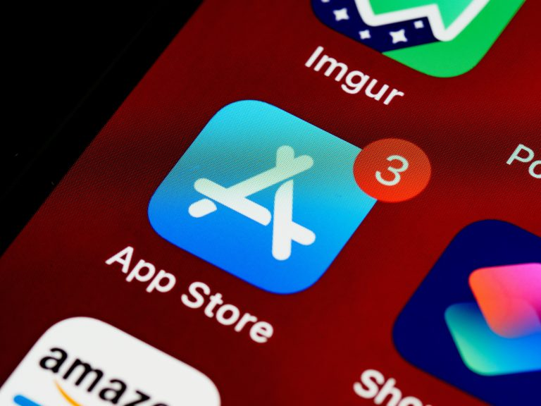 App Store Icon on Mobile Device
